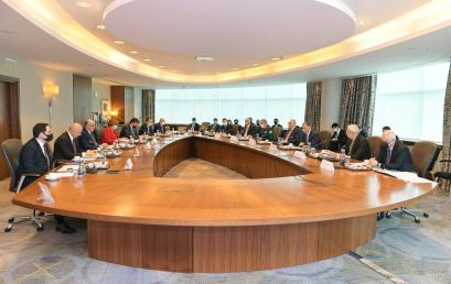 Azərbaycan Respublikasının Tranzit Yükdaşımalar üzrə Koordinasiya Şurasının iclası keçirildi
