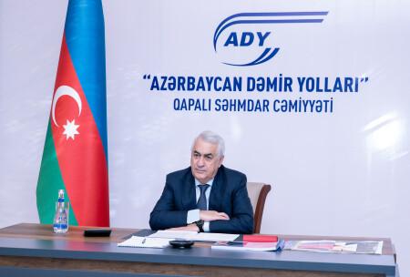 """""""Azərbaycan Dəmir Yolları"""" QSC-də növbəti kollegiya iclası keçirilib"""