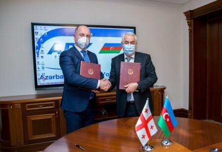 Azərbaycan və Gürcüstan dəmir yolları arasında əməkdaşlığa dair sənəd imzalanıb